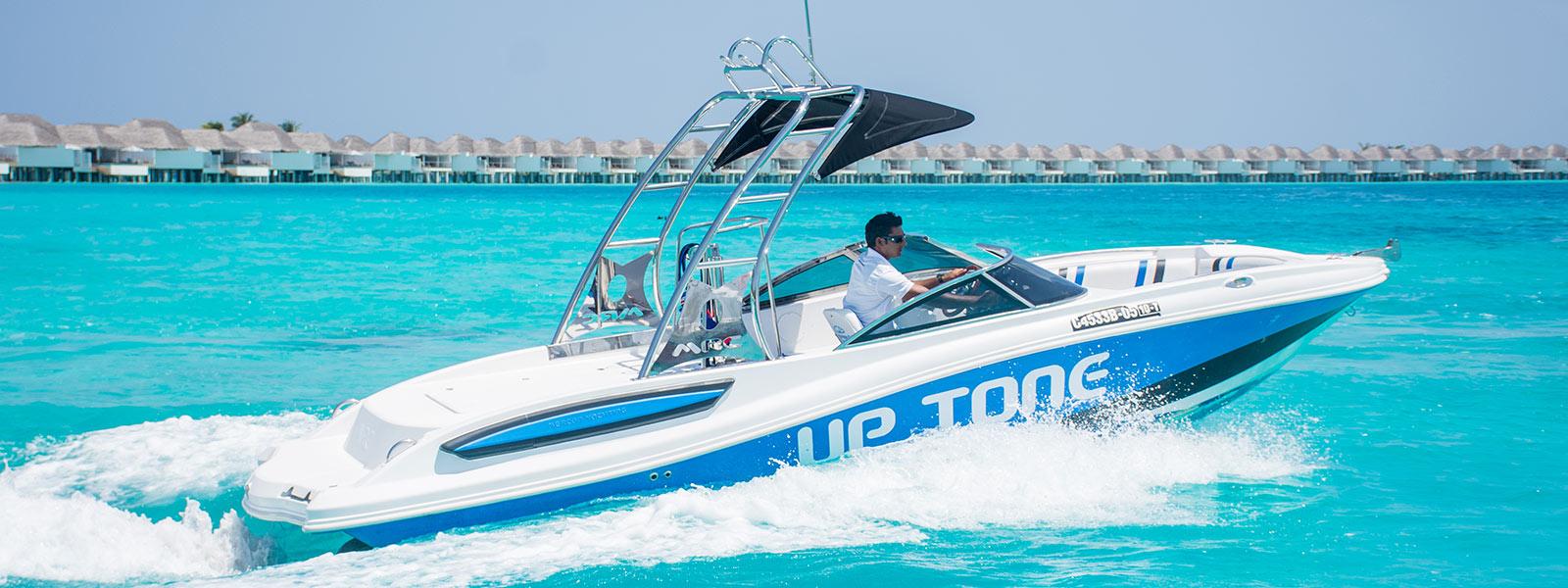 Private boat charter Maldives