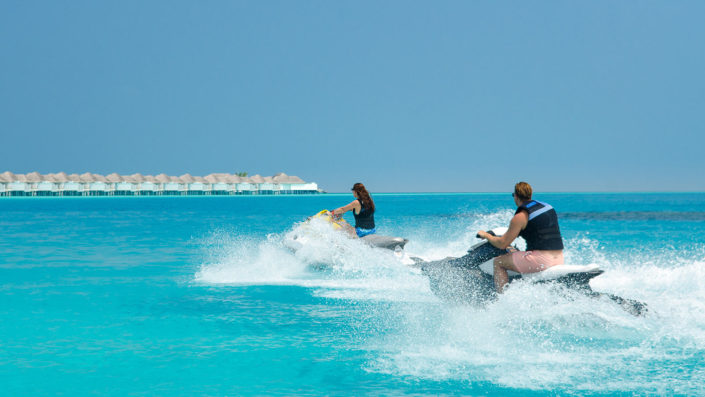 Maldives watersports jet ski