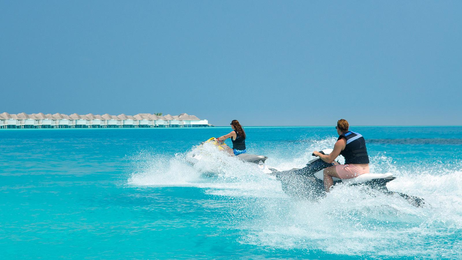Maldives watersports jet ski