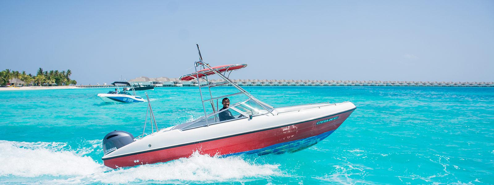 Speedboat Maldives Watersports