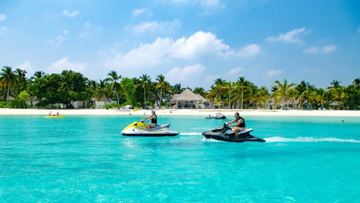 Jet ski Maldives watersports