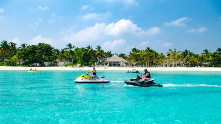 Jet ski Maldives watersports