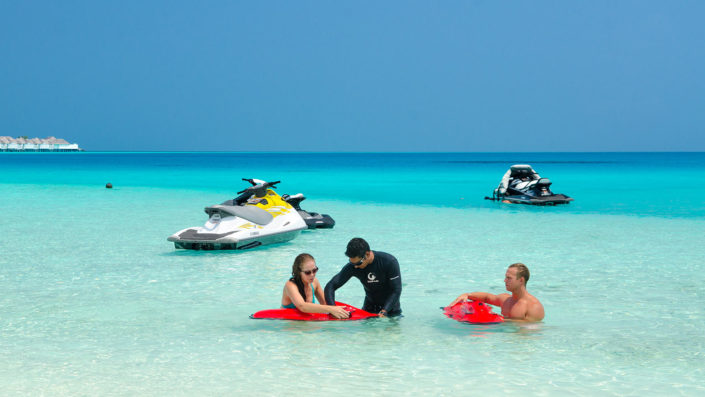 Speedboat Maldives Watersports