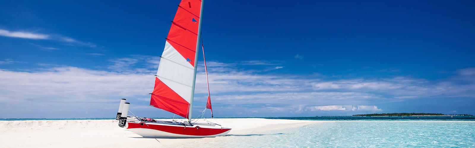 Catamaran Sailing Maldives